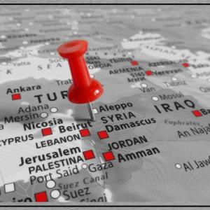 map wo israel