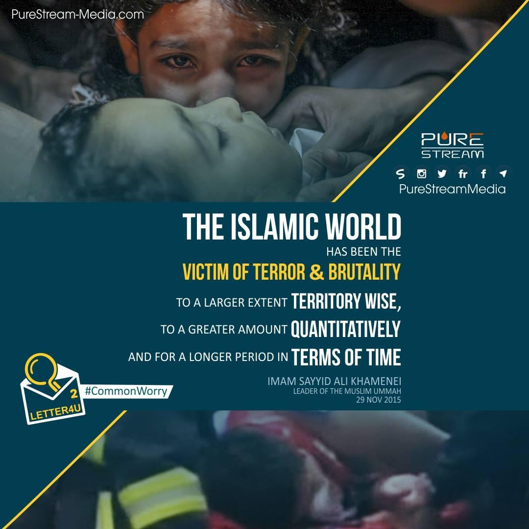 Victim of Terror & Brutality…