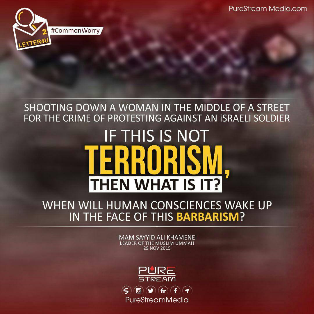 If this is not terrorism…
