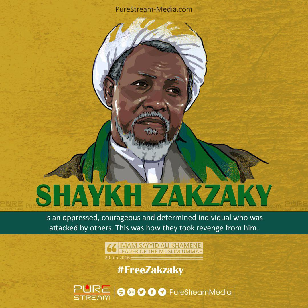 Shaykh Zakzaky is an oppressed…