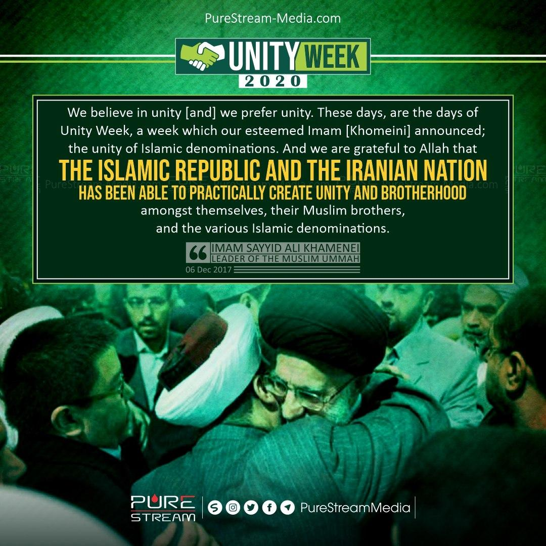We believe in unity [and] we prefer unity…