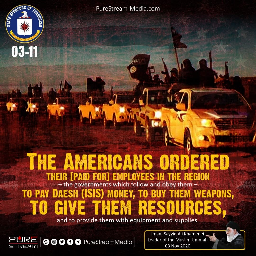 The Americans ordered their [paid for] employees…