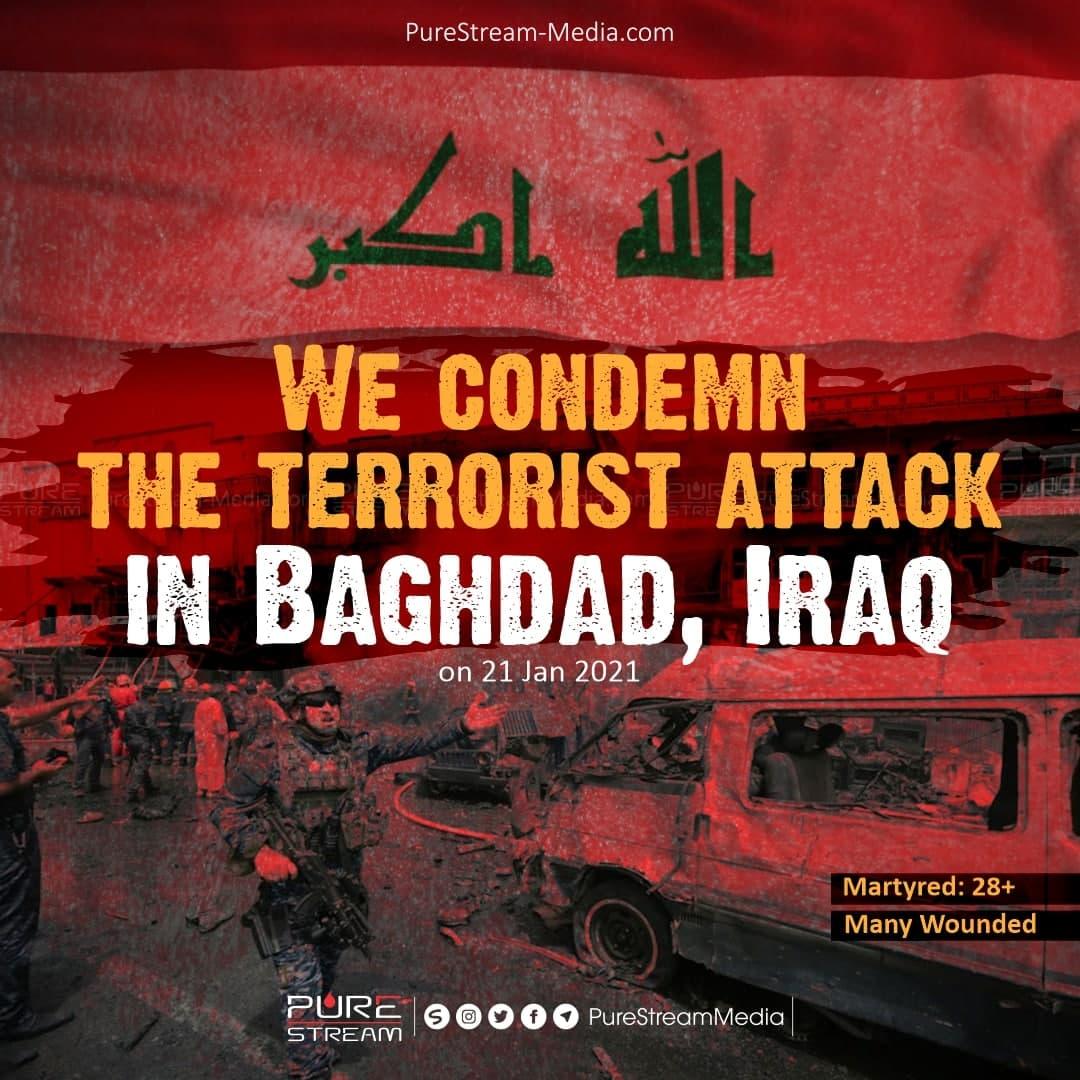 We condemn the terrorist attack…