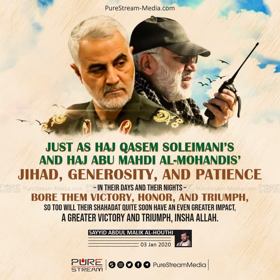 Just as Haj Qasem Soleimani's…