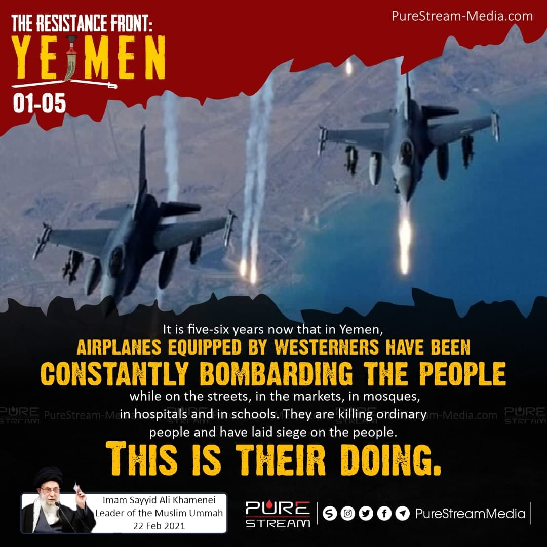 It is five-six years now that in Yemen…