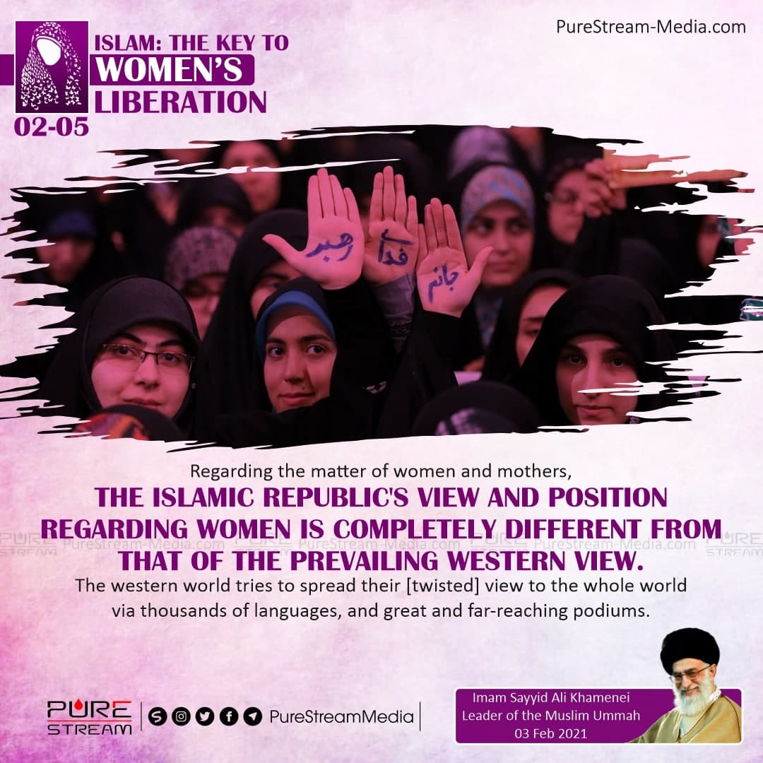 Regarding the matter of women and mothers…
