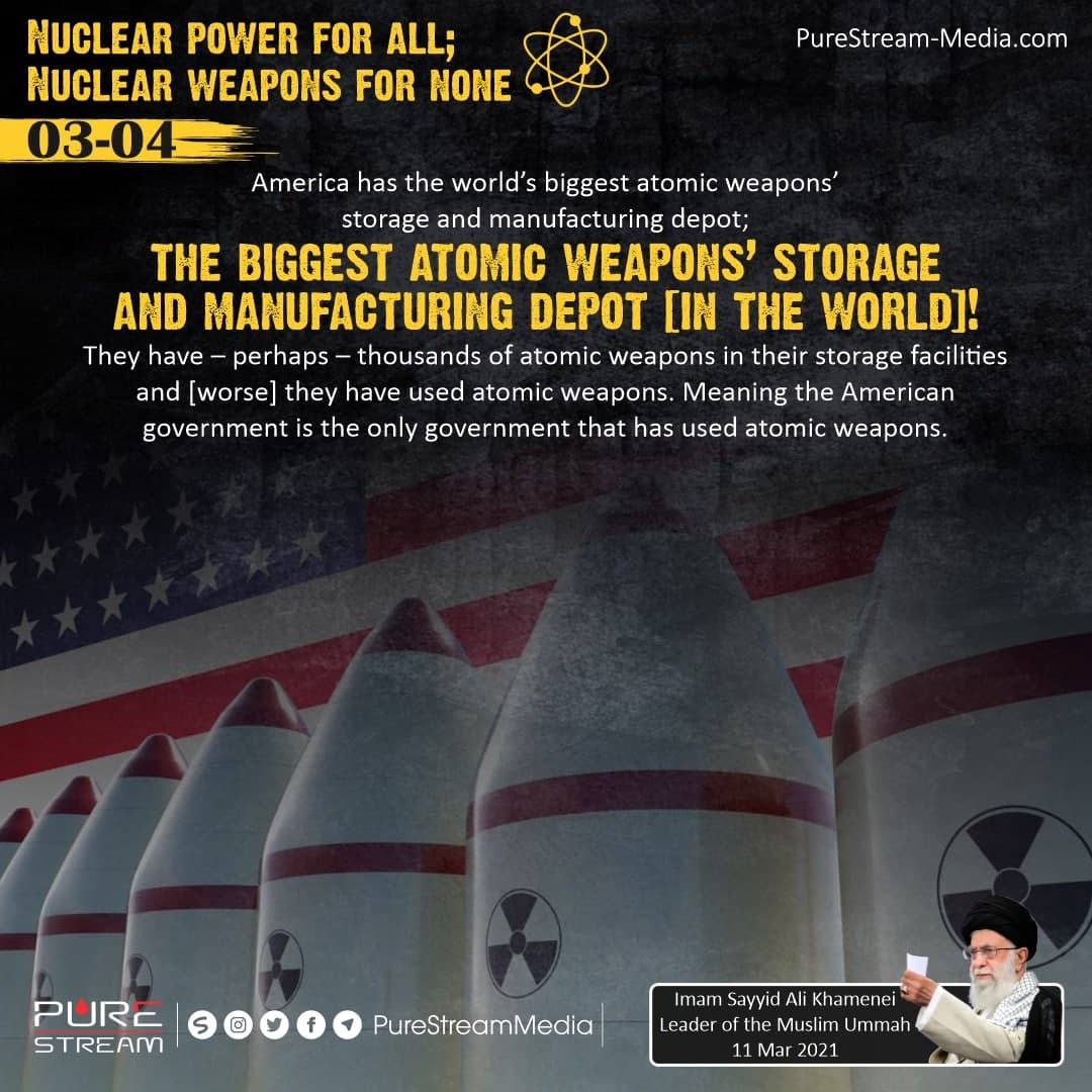 America has the world's biggest atomic weapons'…