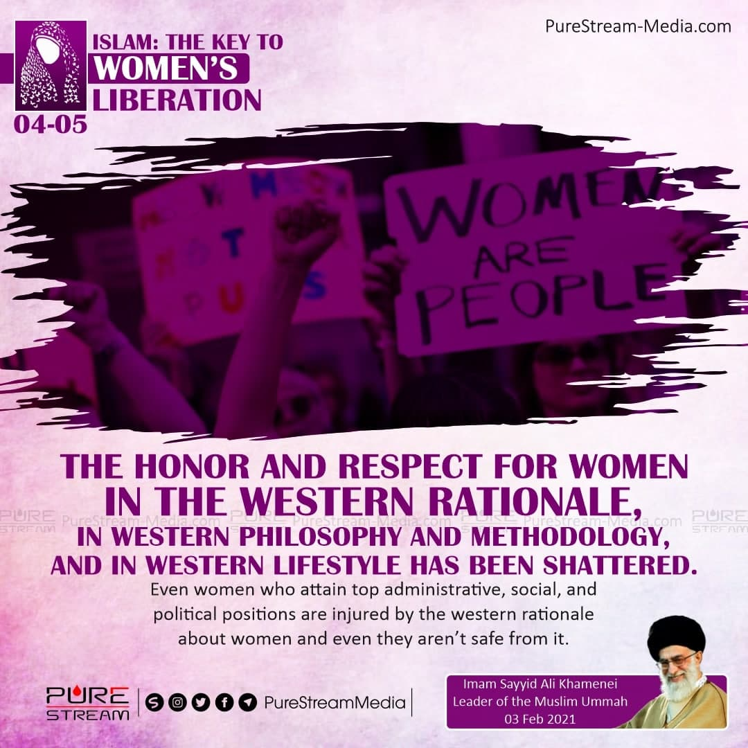 The honor and respect for women…