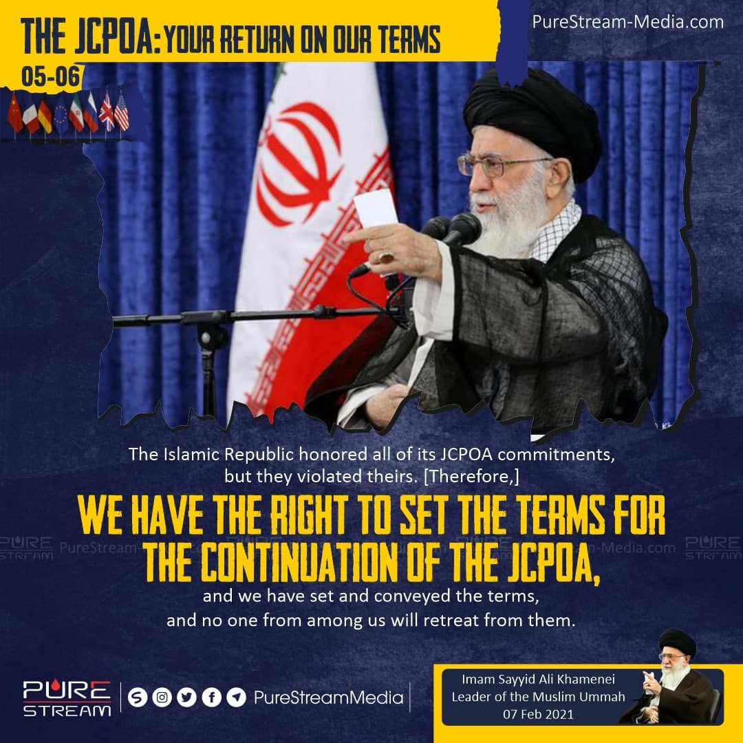 The Islamic Republic honored all of its JCPOA…