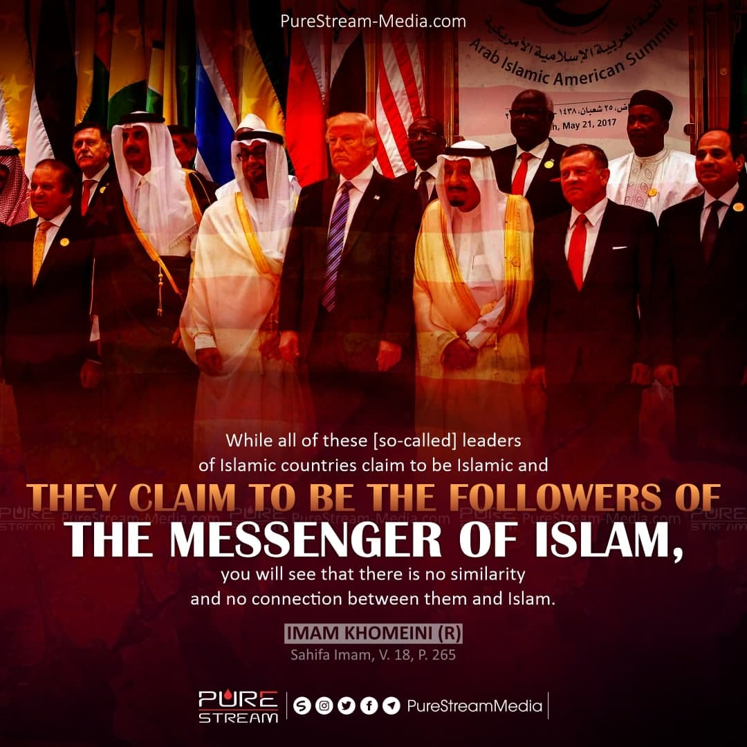 While all of these [so-called] leaders of…
