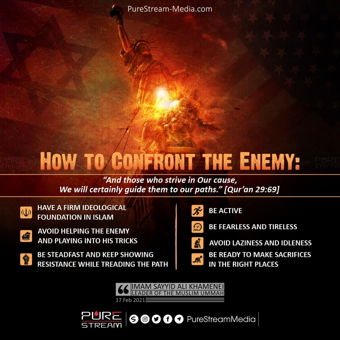 How to Confront the Enemy | Infographic