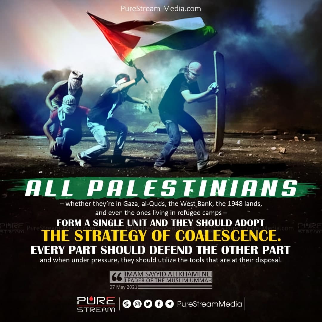 All Palestinians – whether they're in Gaza…