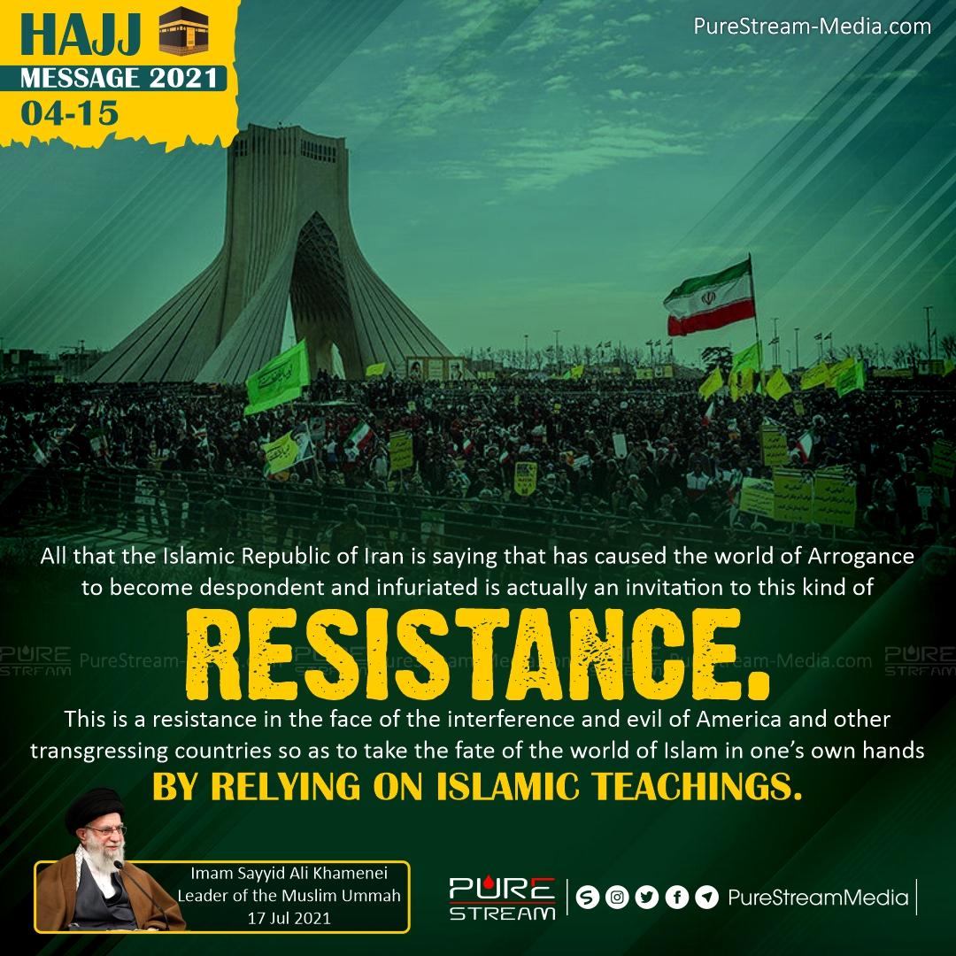 All that the Islamic Republic of Iran…