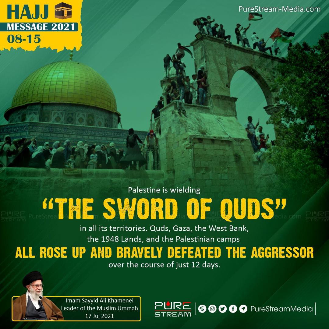Palestine is wielding the Sword of Quds…