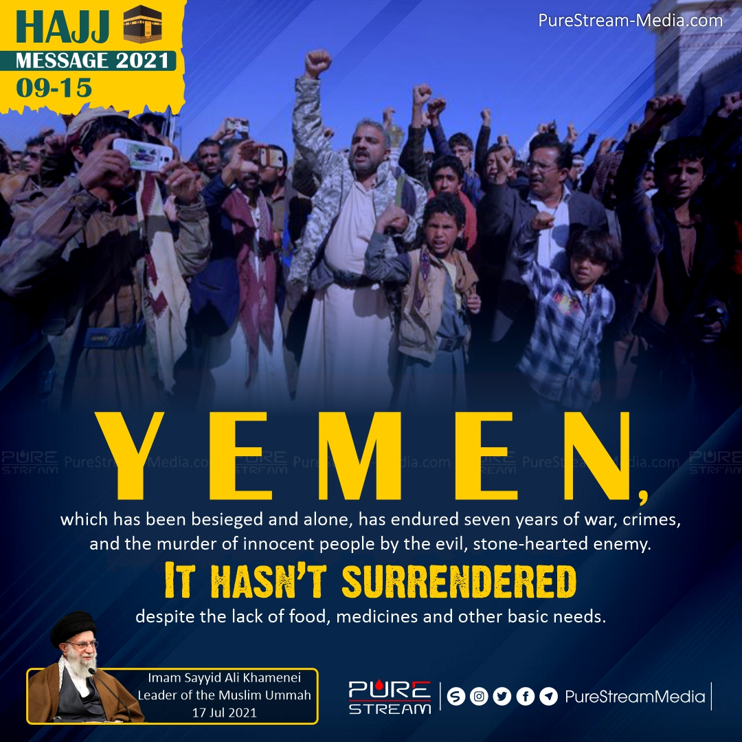 Yemen, which has been besieged and alone…