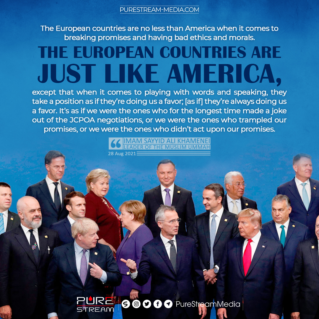 The European countries are no less than America…